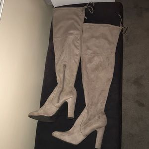 Unisa suede tan boots 8.5